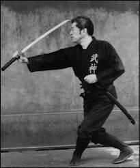 Massaki Hatsumi ken jutsu
